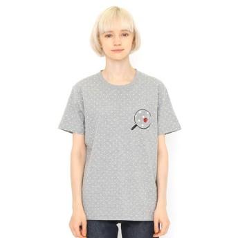 [マルイ]【セール】【ユニセックス】総柄ドットTシャツ/ファインドアレディバグ/グラニフ(graniph)