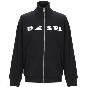 《期間限定 セール開催中》DIESEL メンズ スウェットシャツ ブラック S コットン 56% / ポリエステル 44%