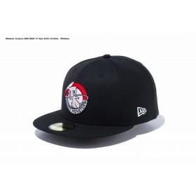 【ニューエラ公式】 59FIFTY ポケモン ミュウ モンスターボール ブラック × マルチカラー メンズ レディース 7 (55.8cm) キャップ 帽子 12119384 コラボ NEW ERA