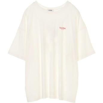 【5,000円以上お買物で送料無料】バックチェリープリントTシャツ