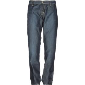 《期間限定 セール開催中》RO ROGER'S DE LUXE メンズ ジーンズ ブルー 38 コットン 70% / PES - ポリエーテルサルフォン 30%