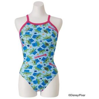 MIZUNO SHOP [ミズノ公式オンラインショップ] 競泳練習用【Disney/TOY STORY】ミディアムカット[ジュニア] 24 ターコイズ N2MA9980