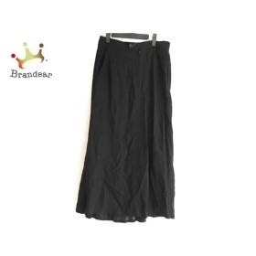 ヨウジヤマモト yohjiyamamoto ロングスカート サイズ3 L レディース 美品 黒 +NOIR 新着 20190709