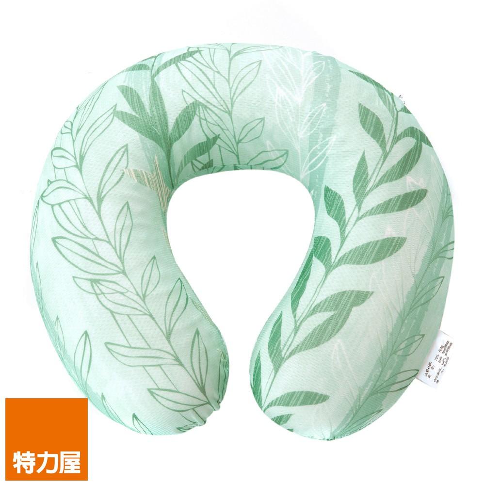 抗菌冷凝記憶舒壓頸枕 綠藤
