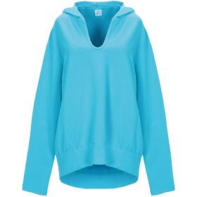 《期間限定セール開催中!》DEHA レディース スウェットシャツ アジュールブルー XS コットン 96% / ポリウレタン 4%