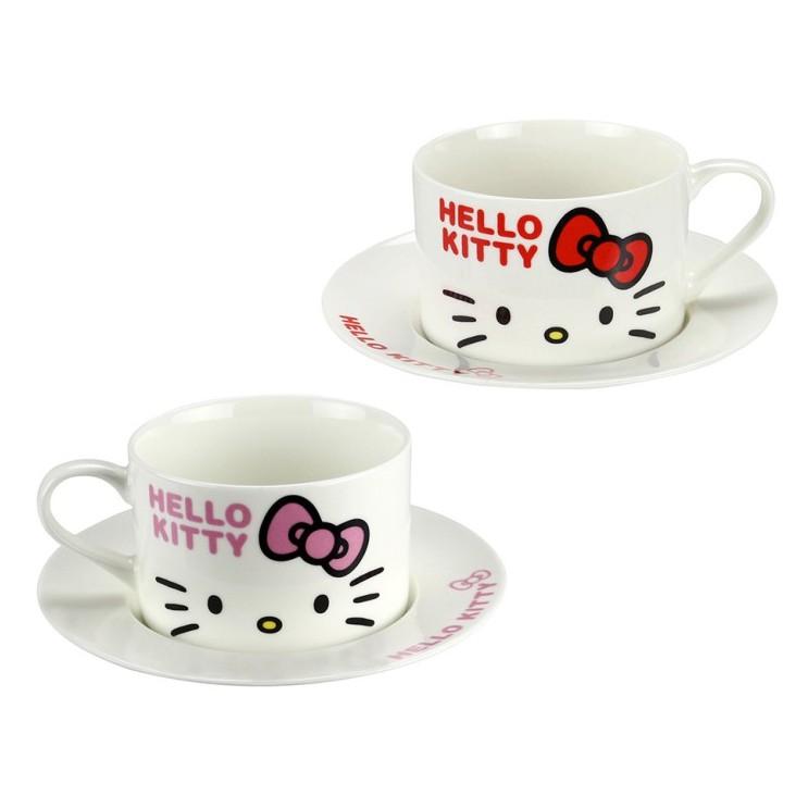 Hello Kitty 咖啡杯盤組 4713968221917