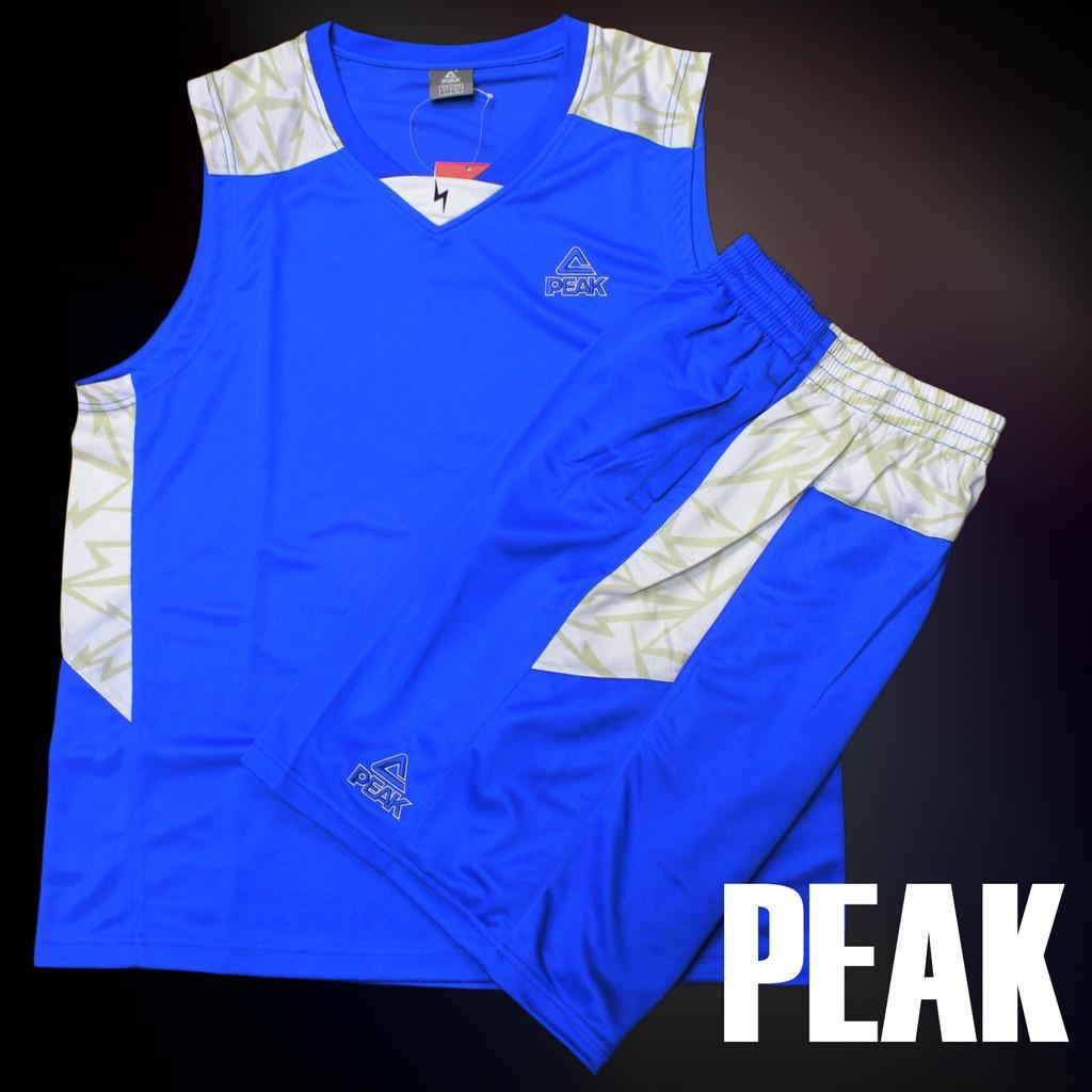 PEAK 專業籃球衣褲 閃電系列 藍 E733091 亮禹體育PEAK台灣經銷商