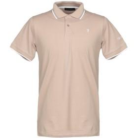 《期間限定セール開催中!》TRU TRUSSARDI メンズ ポロシャツ ベージュ S コットン 97% / ポリウレタン 3%