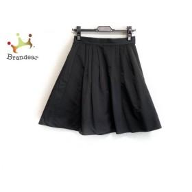 ブルーガールブルマリン BLUGiRL BLUMARINE スカート サイズ40 M レディース 美品 黒 プリーツ 新着 20190709