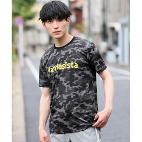 【19%OFF】 トップイズム ドライメッシュロゴTシャツ メンズ モスグリーン L 【TopIsm】 【タイムセール開催中】