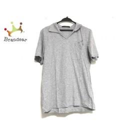 ルイヴィトン LOUIS VUITTON 半袖ポロシャツ サイズM メンズ 美品 グレー 新着 20190709