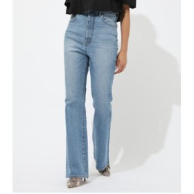 【AZUL by moussy:パンツ】HIGH WAIST DENIM FLARE