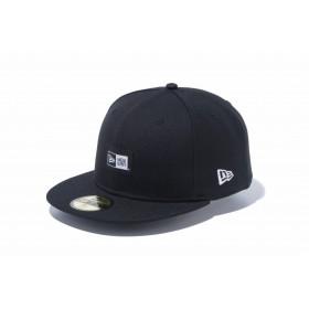 【ニューエラ公式】 59FIFTY ウーブンラベル ブラック メンズ レディース 7 (55.8cm) キャップ 帽子 12119395 NEW ERA