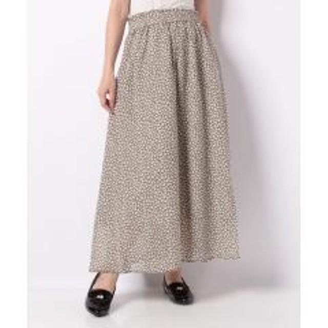 Lugnoncure 小花柄ギャザースカート