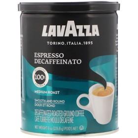 カフェイン抜き挽きコーヒー豆, エスプレッソ, 8 オンス (226.8 g)