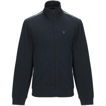 《期間限定セール開催中!》EA7 メンズ スウェットシャツ ダークブルー XXS コットン 95% / ポリウレタン 5%