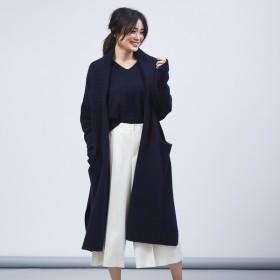 [マルイ] ウールフォックスロングカーデ【予約】/カリテ(qualite)