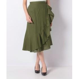 マーメイドラップ風スカート