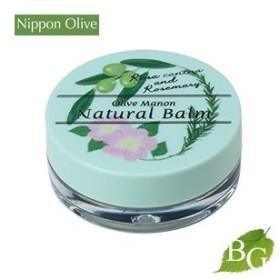 日本オリーブ オリーブマノン ナチュバーム ノバラとローズマリーの香り 10mL