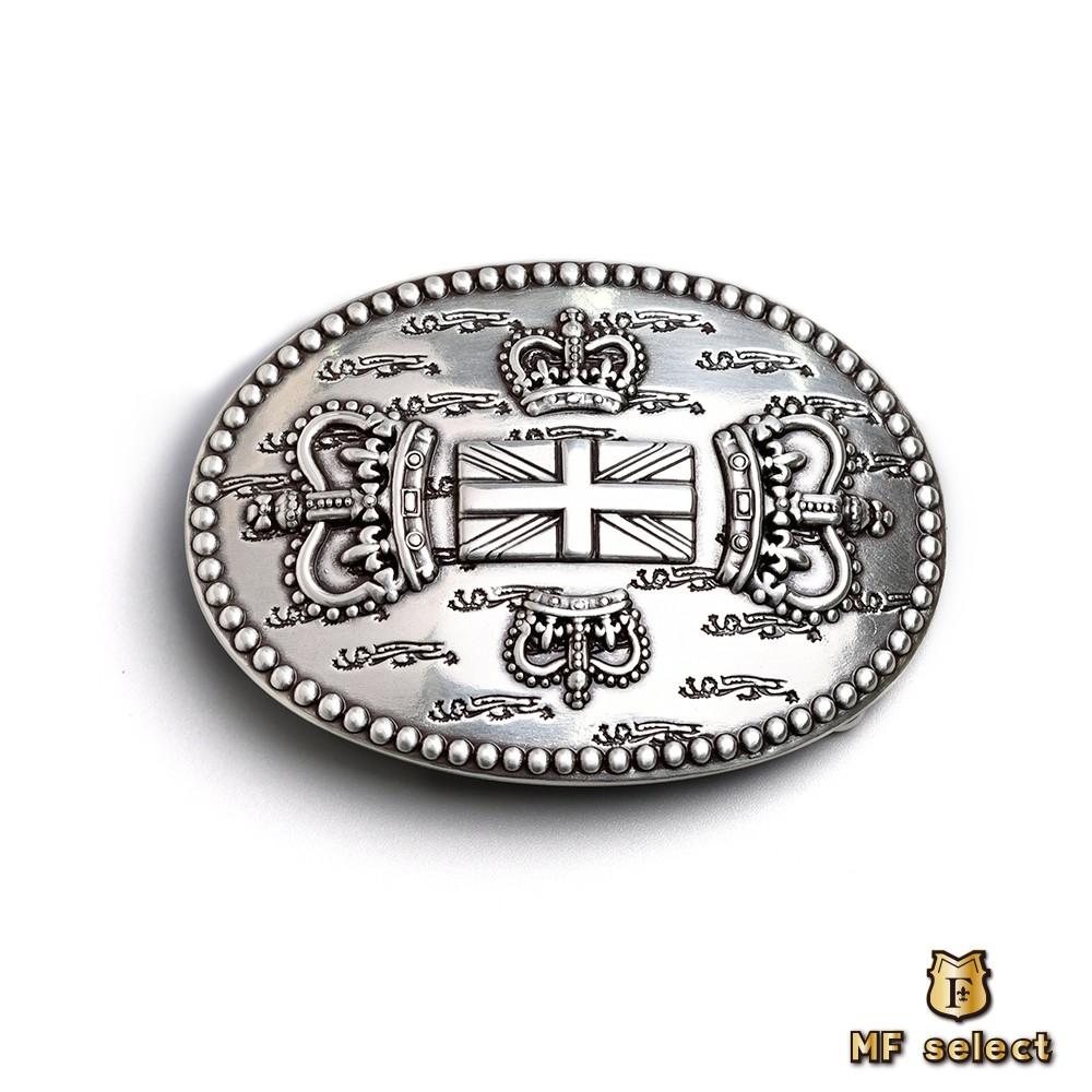 【MF select】皇冠十字架 造型皮帶扣 皮帶頭 (BKLHA0976)
