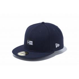 【ニューエラ公式】 59FIFTY ウーブンラベル ネイビー メンズ レディース 7 (55.8cm) キャップ 帽子 12119394 NEW ERA