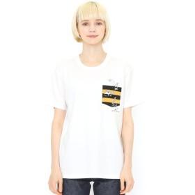 [マルイ] 【ユニセックス】コラボレーションTシャツ/目玉おやじジャンプ(ゲゲゲの鬼太郎)/グラニフ(graniph)