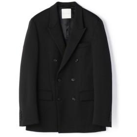 ESTNATION / ポンチダブルセットアップジャケット ブラック/MEDIUM(エストネーション)◆メンズ テーラードジャケット