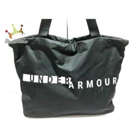 アンダーアーマー UNDER ARMOUR トートバッグ 美品 黒×白 ナイロン  値下げ 20190913