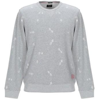 《期間限定セール開催中!》PEPE JEANS メンズ スウェットシャツ ライトグレー XS コットン 99% / ポリウレタン 1%