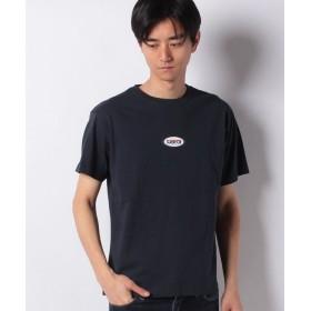スペンディーズストア DISCUSOvalロゴデザインビッグシルエットTシャツ メンズ ネイビー L 【SPENDY'S Store】