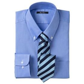 【メンズ】 形態安定カラービジネスシャツ(長袖) ■カラー:ボタンダウン ■サイズ:M,L,LL