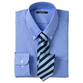 【メンズ】 形態安定カラービジネスシャツ(長袖) ■カラー:ボタンダウン ■サイズ:M,LL,L