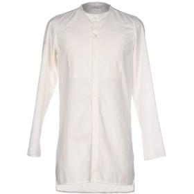 《期間限定 セール開催中》BERNA メンズ シャツ アイボリー L ポリエステル 65% / コットン 35%
