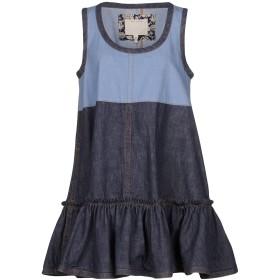 《セール開催中》MARC JACOBS レディース ミニワンピース&ドレス ブルー XS 100% コットン