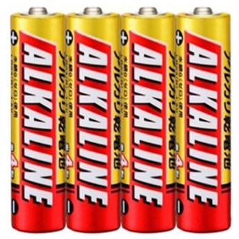 三菱単4形アルカリ乾電池 4本入りLR03R/4S