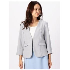 MEW'S REFINED CLOTHES(ミューズ)UV洗えるカラーレスジャケット2