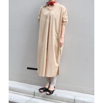 ドローコード袖ドレス