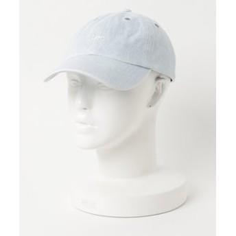 【Lee:帽子】Leeロゴ デニムキャップ