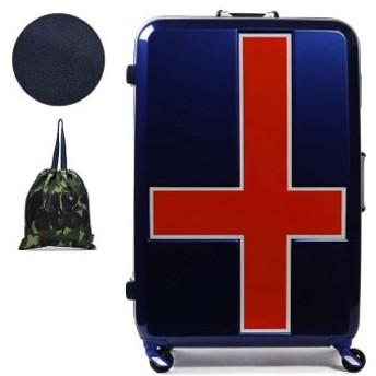 (GALLERIA/ギャレリア)【正規品2年保証】イノベーター スーツケース innovator キャリーケース フレーム 90L 7泊 8泊 9泊 10泊 Lサイズ 旅行 INV68T/ユニセックス ブルー系1 送料無料