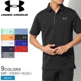 アンダーアーマー UNDER ARMOUR ポロシャツ テック ポロシャツ 1290140 メンズ スポーツ ウェア