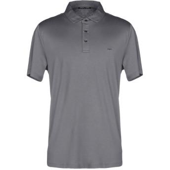 《期間限定セール開催中!》MICHAEL KORS MENS メンズ ポロシャツ 鉛色 XS コットン 100%