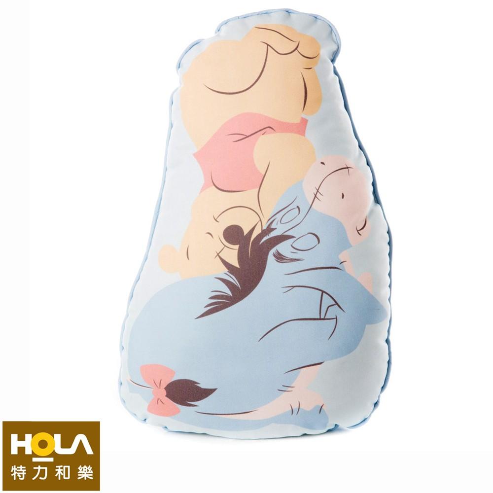 HOLA 迪士尼系列 維尼造型抱枕 屹耳 Winnie the Pooh Disney