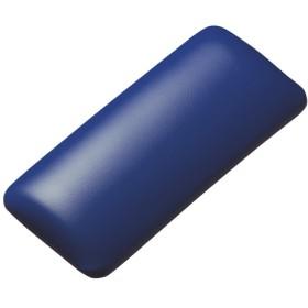 【わけあり在庫処分】マウス用リストレスト(レザー調素材、ブルー)