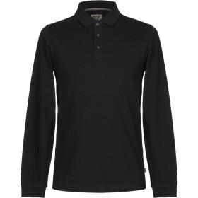 《期間限定セール開催中!》ARMANI COLLEZIONI メンズ ポロシャツ ブラック XXL コットン 96% / ポリウレタン 4%