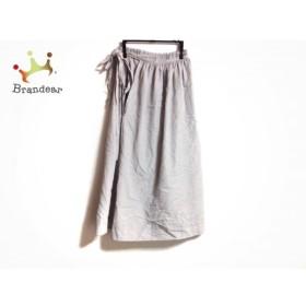 ワイズ Y's 巻きスカート サイズ3 L レディース ライトグレー   スペシャル特価 20190929