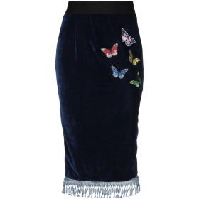 《セール開催中》MARIA DI SOLE レディース ひざ丈スカート ダークブルー S ポリエステル 96% / ポリウレタン 4%