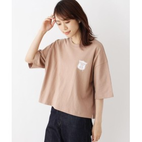 OPAQUE.CLIP(オペークドットクリップ) YALEロゴ入りTシャツ