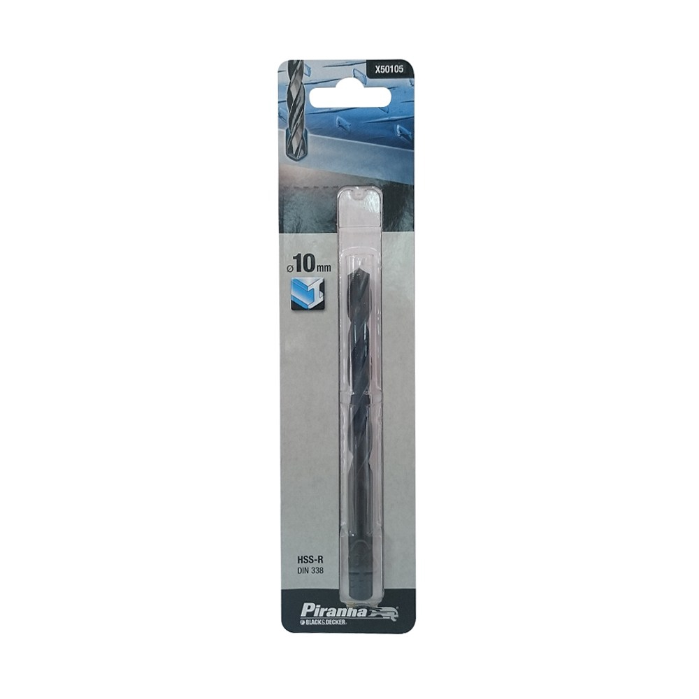 B+D 鐵工鑽頭 染黑 10.0mm X50105-QZ