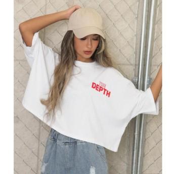 [マルイ]【セール】ドルマンスリーブクロップドTシャツ/アナップ(ANAP)