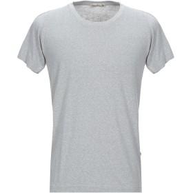 《期間限定 セール開催中》HIPSTEZ メンズ T シャツ グレー L コットン 70% / ポリエステル 30%